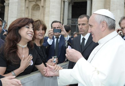 Silvia Irigaray e papa Francesco