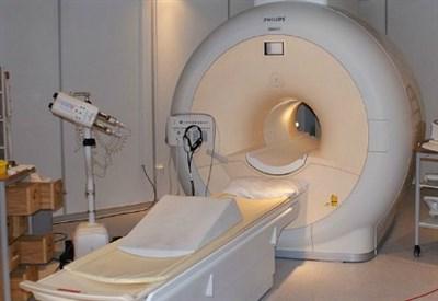 Un'apparecchiatura per la risonanza magnetica
