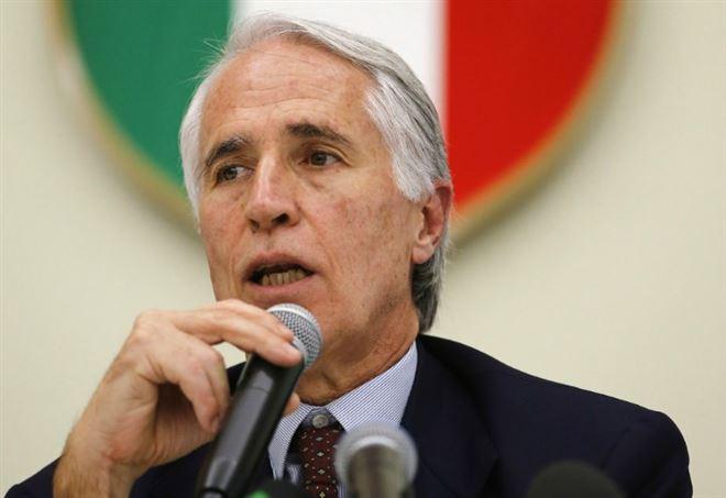 Il presidente del Coni, Malagò - LaPresse