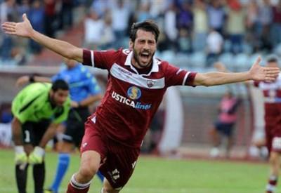 Matteo Mancosu, 29 anni, attaccante del Trapani