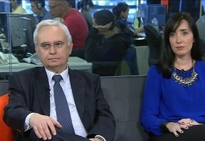 Carlos Manfroni e Victoria Villaruel