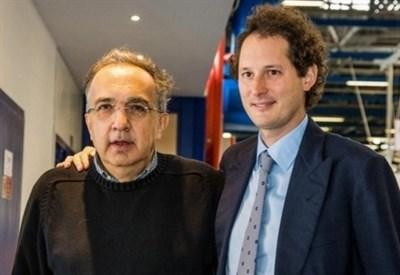 Sergio Marchionne e John Elkann (Lapresse)