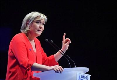 Elezioni Francia 2017, Marine Le Pen (LaPresse)