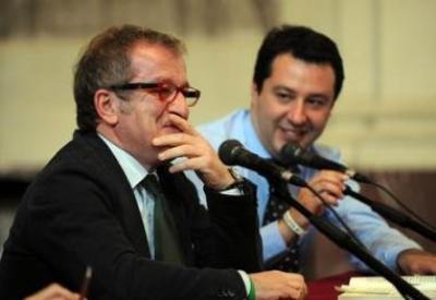 Roberto Maroni e Matteo Salvini (Infophoto)