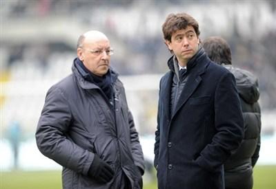 Giuseppe Marotta e Andrea Agnelli (Infophoto)