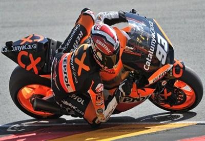 Marc Marquez, campione del Mondo Moto2 (Infophoto)