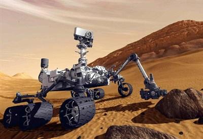 La sonda Curiosity su Marte