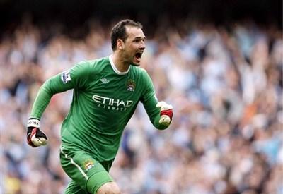 Marton Fulop ai tempi del Manchester City (Infophoto)