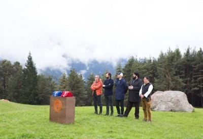 I quattro giudici di MasterChef Italia in Alto Adige