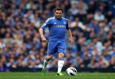 Juan Mata, dal Chelsea allo United per 45 milioni di euro (Foto Infophoto)