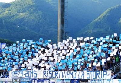 (dall'account ufficiale facebook.com/Matera-Calcio)