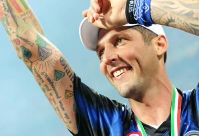 Marco Materazzi, grande doppio ex della partita (Infophoto)