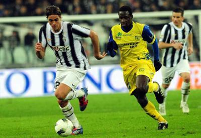 Alessandro Matri, della Juventus, piace al Milan: stasera il Trofeo Berlusconi (Infophoto)
