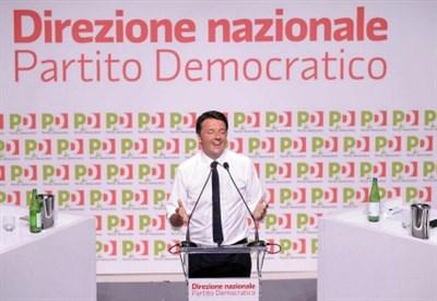 Matteo Renzi, Direzione Pd (Foto: LaPresse)