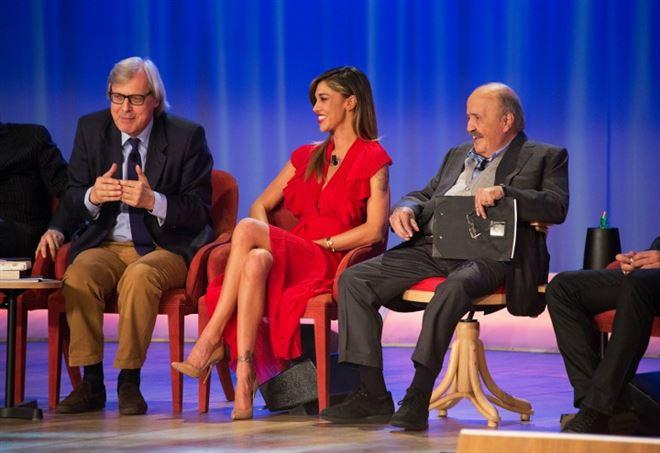 Simona Ventura al Maurizio Costanzo Show parla del rapporto con Mara Venier