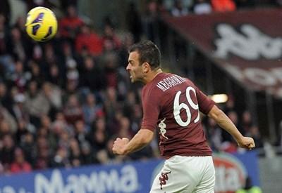 Riccardo Meggiorini, attaccante del Torino (Infophoto)