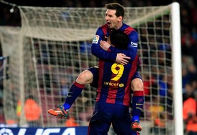 Messi e Suarez (Infophoto)