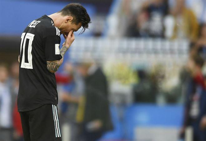 Gli argentini? Messi male