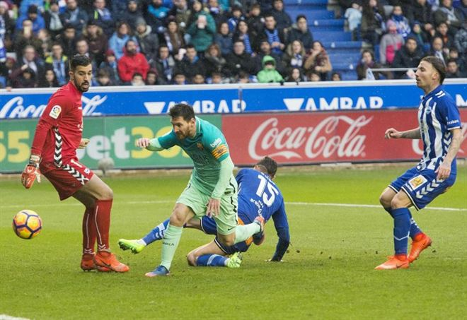 Barcellona-Alaves, la finale di Coppa del Re su Nove