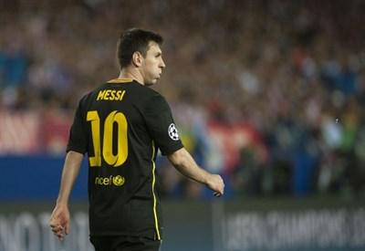 Leo Messi deluso: nemmeno lui è bastato per arrivare in semifinale (Infophoto)