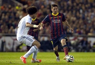 Leo Messi, 27 anni (Infophoto)