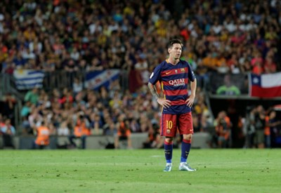 Leo Messi, 28 anni (Infophoto)