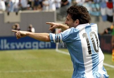 Leo Messi ha segnato una doppietta (Infophoto)