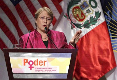 Michelle Bachelet (Infophoto)