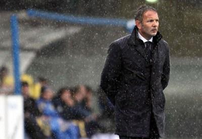 Sinisa Mihajlovic, allenatore della Sampdoria (Foto Infophoto)