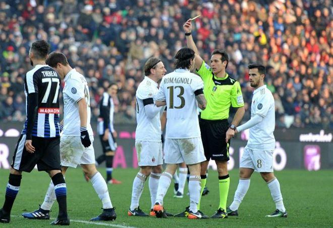 Milan Udinese, Serie A (Foto LaPresse)