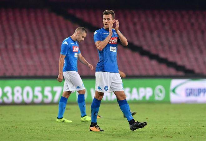 Napoli-Nizza: 2-0. Azzurri dominanti, ma nel finale si doveva arrotondare