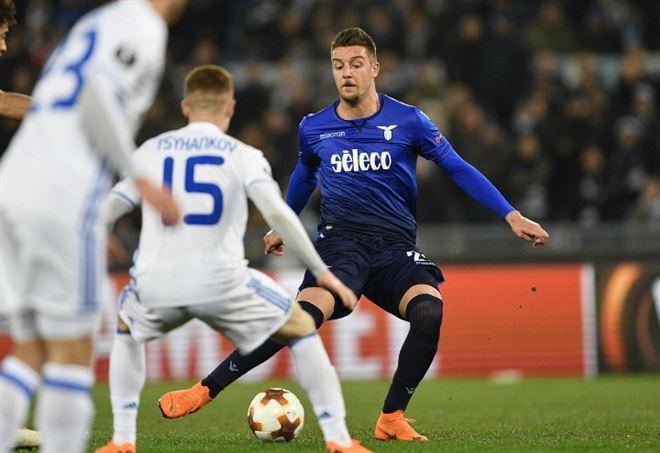 Probabili formazioni Dinamo Kiev Lazio, Europa League (Foto LaPresse)