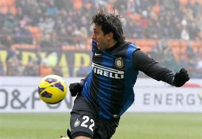 Diego Milito, 34 anni (Infophoto)