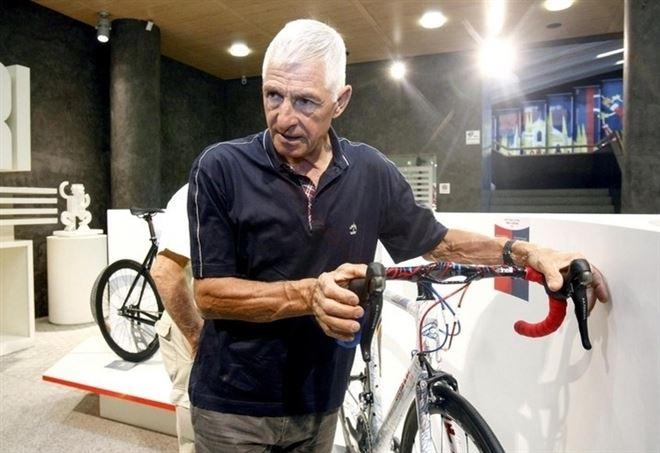 Francesco Moser, in un recente scatto (LaPresse)