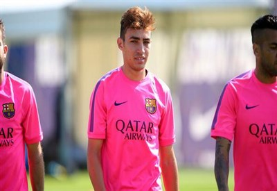 Munir El Haddadi, gol all'esordio in prima squadra