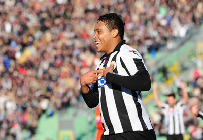 Luis Muriel, attaccante Udinese (Infophoto)