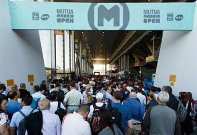 L'ingresso al Mutua Madrid Open