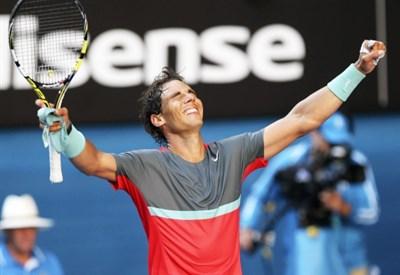 Rafael Nadal, 28 anni, attuale numero 2 del ranking ATP (Infophoto)