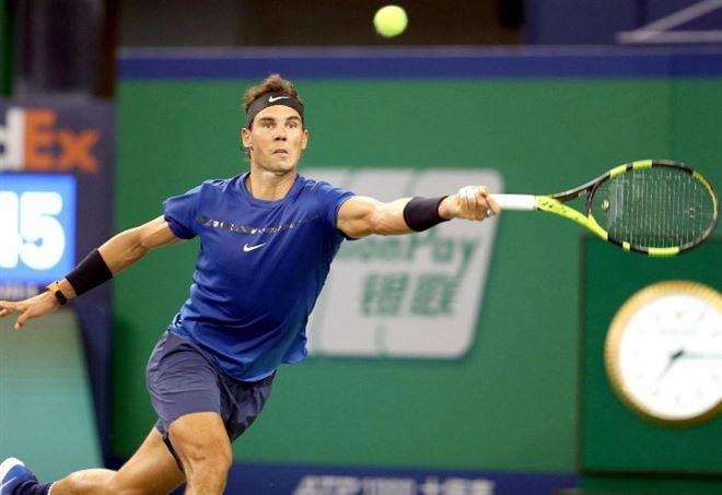 Diretta Atp Shanghai 2017: Rafa Nadal trova ancora Grigor Dimitrov (Foto LaPresse)