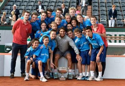 Rafa Nadal, 28 anni, ha vinto il nono Roland Garros