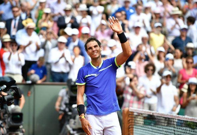Tennis: Rafael Nadal nella leggenda