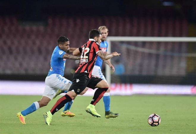 Diretta Napoli-Nizza, Champions League (Foto LaPresse)