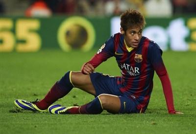 Neymar da Silva Santos Junior, 22 anni (Infophoto)