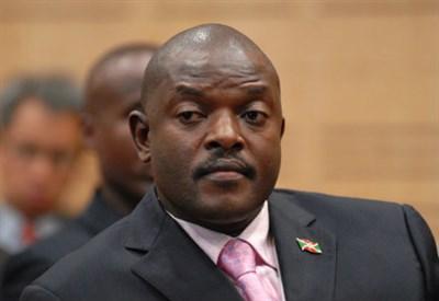 Il presidente in carica del Burundi