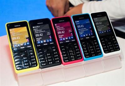 Nokia 105 nelle sue diverse colorazioni