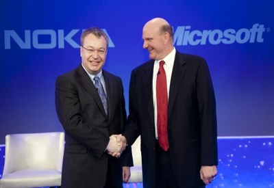 Nokia e Microsoft ad una presentazione