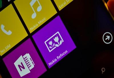Nokia Refocus App
