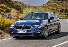 Agile, leggera e superspaziosa: ecco la nuova BMW Serie 5 Touring (FOTOGALLERY)