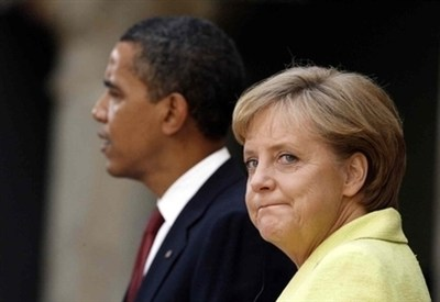 Angela Merkel e Barack Obama