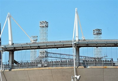 Lo stadio Olimpico di Torino (Infophoto)